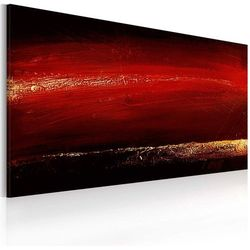 Obraz malowany - Czerwona szminka