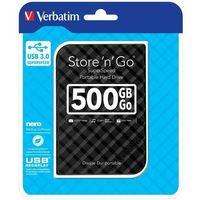 Dysk zewnętrzny Verbatim 500GB Store 'n' Go 2.5