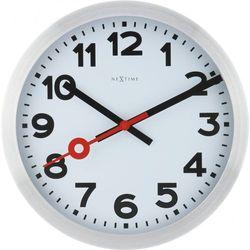 Zegar ścienny 3999 ARRC Station Radio Controlled śr. 35cm Nextime (8717713015055)