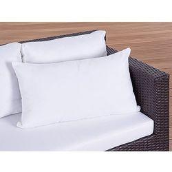 Poduszka ogrodowa - dekoracyjna - poduszka 50x70 cm beżowa ()