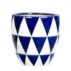 Ceramiczna osłona na donicę circa`n l, marki A`miou home