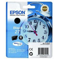 Epson  oryginalny ink c13t27014020, 27, black, 6,2ml, epson wf-3620, 3640, 7110, 7610, 7620, kategoria: tusze