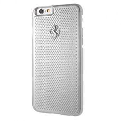 FERRARI Hardcase Perforated Aluminium - Etui Aluminiowe iPhone 6/6s (srebrny), kup u jednego z partnerów