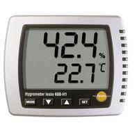Termohigrometr z czujnikiem wewnętrznym ntc, wilgotnościomierz powietrza,  608-h1 marki Testo