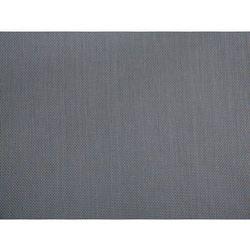 Beliani Zestaw ogrodowy szklany blat 180 cm 6 osobowy szare krzesła grosseto