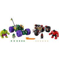 Lego SUPER HEROES Hulk kontra czerwony hulk hulk vs. red hulk 76078