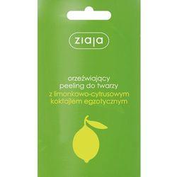Ziaja Seria Limonkowo-Cytrusowa Peeling do twarzy 1 op-20szt x 7ml - Ziaja - produkt z kategorii- Peelingi do