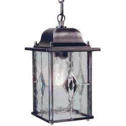 Zewnętrzna lampa wisząca wexford wx9  zwis oprawa ogrodowa ip43 outdoor srebrna, marki Elstead