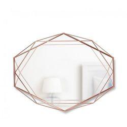 Lustro Umbra Prisma copper 57x43 cm