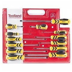 zestaw wkrętaków - 13 szt. marki Toolland