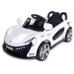 Caretero Toyz Samochód na akumulator dziecięcy Aero biały white - produkt z kategorii- pojazdy elektryczne