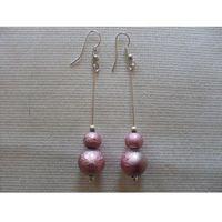 K-00156 Kolczyki z różowymi perłami, 04-06-12