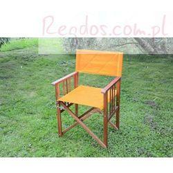 Krzesło drewniane - Fotel składany - Pomarańczowe, kup u jednego z partnerów