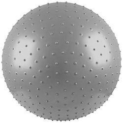 Piłka gimnastyczna masująca 55 cm srebrna -  - srebrny, marki Insportline do zakupu w Marbo-Sport.pl