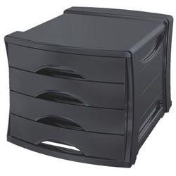 Pojemnik z 4 szufladami ESSELTE Europost VIVIDA czarny