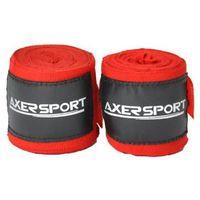 Axer sport Bandaż bokserski  a1661 czerwony (4 m)