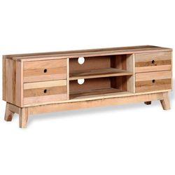 szafka pod tv z drewna odzysku szufladami marki Vidaxl