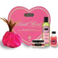 Zestaw olejków w sercu dla ukochanej / walentynki - Kama Sutra Sweet Heart Różowe