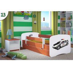 Łóżko dziecięce babydreams policja kolory negocjuj cenę. marki Kocot-meble