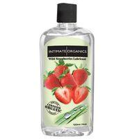 Środek nawilżający - Intimate Organics Wild Strawberries Lube 120 ml Truskawki z kategorii Żele erotyczne