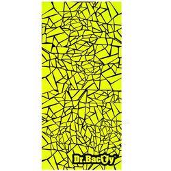 Dr.bacty l geometric neon szybkoschnący ręcznik treningowy - geometric neon