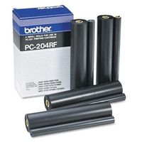 Brother 4 x folia termotransferowa Black PC-204RF, PC204RF, PC204RF