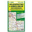 Mapa województwa lubelskiego - administracyjno-samochodowa 1:190 000 - Wydawnictwo Kartograficzne