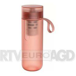 butelka z filtrem 0.59l czerwono-różowy awp2712rdr/10 marki Philips