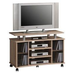 Stolik pod telewizor 45x100 cm, naturalny, MDF, 73624825