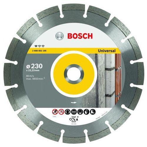 Bosch Tarcza diamentowa 115mm, universal - sprawdź w Mall.pl