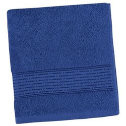 ręcznik kamilka pasek ciemnoniebieski, 50 x 100 cm marki Bellatex