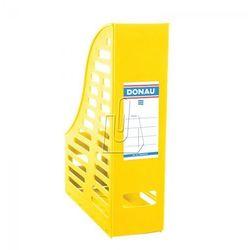 Donau Pojemnik na dokumenty (czasopisma) a4 żółty składany ażur (7464001pl-11) (5901498026679)