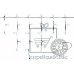 Sieć lampek ogrodowa - deszcz 110 diod LED biała stałe lub migające (4025327341182)