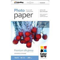 ARSEJ Papier Fotograficzny ColorWay Jedwab 10x15 260 g/m