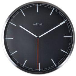 :: zegar ścienny company Ø35 cm czarny marki Nextime