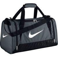Torba treningowa sportowa Brasilia 6 Duffel Small Nike - Szary - szary - produkt z kategorii- Pozostały campi