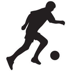 Szablon malarski, wielorazowy, wzór sport 7 - piłkarz z piłką