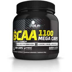 BCAA Mega Caps® 300kaps - 300kaps (aminokwasy)