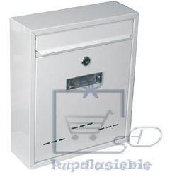 Skrzynka pocztowa jak małe białe 310x260x90mm marki Oem