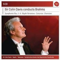 Brahms: The 4 Symphonies & Haydn Variations &Piano Concertos (CD) - Colin Davis