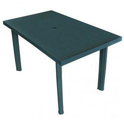 Praktyczny stół ogrodowy Imelda 2X - zielony