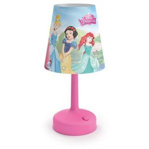 Philips 71796/28/16 - Lampa stołowa dla dzieci DISNEY PRINCESS LED/0,6W/3xAA, 717962816
