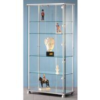 Unbekannt Witryna do prezentacji, 2 drzwi obrotowych, z 4 dekoracyjnymi nóżkami. tutaj two