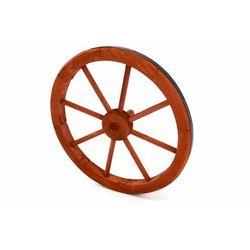 Koło drewniane Garth - stylowa rustykalna dekoracja 45 cm