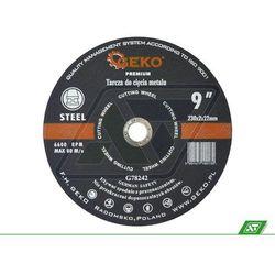 Tarcza do metalu Geko 230x2.0x22 G78242, towar z kategorii: Tarcze do cięcia