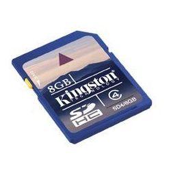 Kingston SD4/8GB Secure Digital SDHC karta pamięci 8GB Class 4, kup u jednego z partnerów