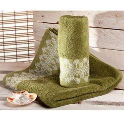 Dekoria Ręcznik Castelo zielony, 70x140cm