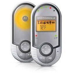 Elektroniczna niania mbp16 srebrna/biała marki Motorola