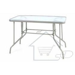 Stół ogrodowy ze szklanym blatem Stół metalowy