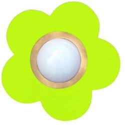 WALDI Lampa do zawieszenia Petit Fleur kolor zielony